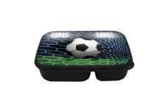 קופסת אוכל מחולקת כדורגל