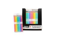 סט 12 עפרונות צבעוניים - טאץ 630302