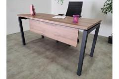 שולחן משרדי רוחב 180 ס``מ  Moto Ps  צבע חום UD סינר חום