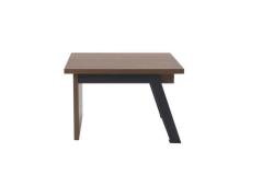 שולחן קפה דגם FLAT  רגל אפורה
