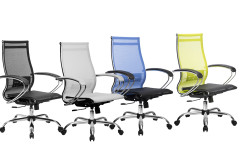 כסא רשת ארגונומי גב נמוך Metta Set 9