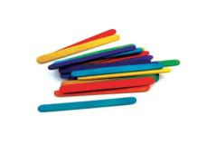 מקלות ארטיק צבעוניים