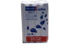 נייר טואלט טישו  טאץ/PRO002  לבן - 48 גלילים