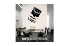 מדבקת קיר - Soup can