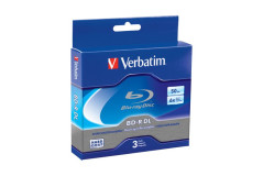 VERBATIM BD-R DL 50GB 2x Jewel Case