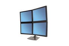 מעמד שולחני למחשב לארבעה מסכים -שניים מעל שניים