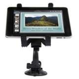 זרוע לרכב עבור 2 iPad & iPad-שחור