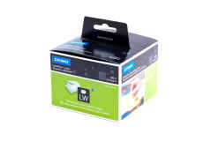 מדבקת DYMO -רוחב 89 גובה 36 (מ``מ) פלסטיק חלבי 260 יח`