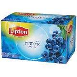 תה צמחים ליפטון-אוכמניות