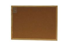 לוח שעם 40x60 מסגרת עץ