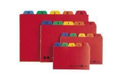 חוצצים פלסטיק א-ב לקופסא מס` 1