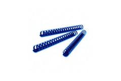 ספירלות פלסטיק לכריכת חוברות-קוטר 19 מ``מ עד 150 דף - 100 יח