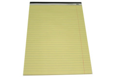 בלוק צהוב A4  לכתיבה-שורה