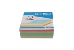 קוביית נייר ממו צבעוני