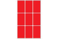 דפי מדבקות 34X53 צבעוני - גלילון