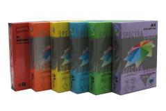 נייר צילום בצבעים כהים עובי 80 גרם גודל A4-בחבילה 500 דף