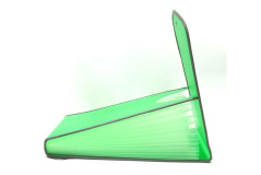 ארמוניקה 13 כיסים מפלסטיק  - A4 פתיחה אנכית