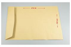 מעטפות כיס חומות סילקון - 26X36 חום