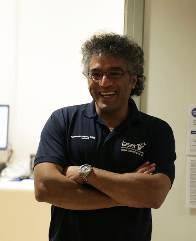 Professor Anoop Chauhan