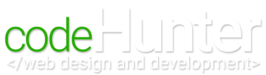 code hunter logo