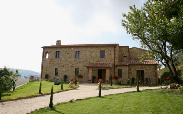 Alojamento de luxo B & B na Toscana