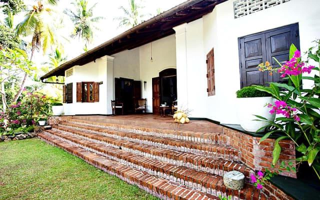 Landsitz-Zustand Galle Sri Lanka Templeberg Landhaus-Kolonial