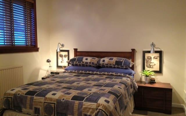 Lovely double room in house, south Edinburgh