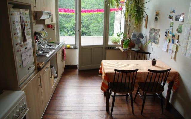 Habitación en hermoso apartamento tranquilo