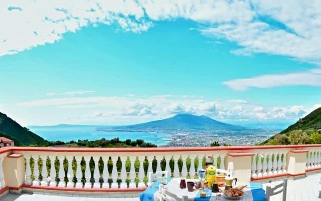 Villa Belvedere Terrasse Vue sur Mer