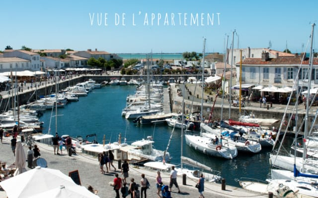 B und B am Hafen - St Martin de Ré