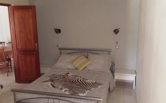 habitación privada con pequeño salón