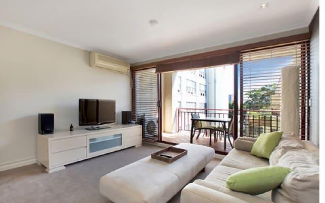 10 minutes à pied de la ville de Sydney depuis cet appartement avec 1...