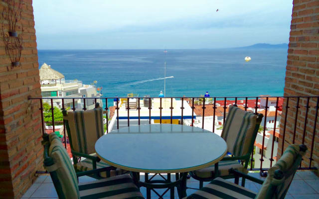 Ocean View Above Los Muertos Colonial Style Romantic Puerto Vallarta