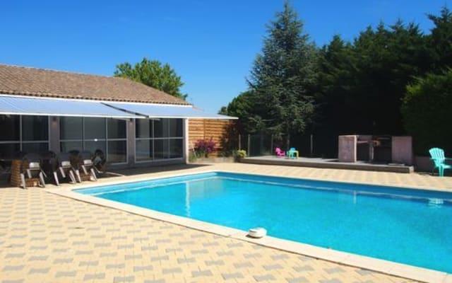 le secret de Viviane, gite piscine et soleil