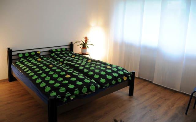 Camera doppia privata (8 minuti dal centro città di Basilea)