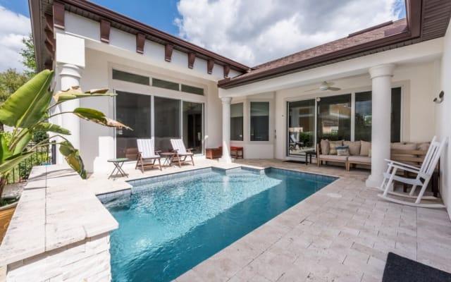 Sparkling Pool Home at Reunion Resort: Disney & Golf