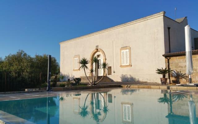 Antica Masseria Pescu, ruhig, entspannen, Pool, Bauernhaus in Salento...