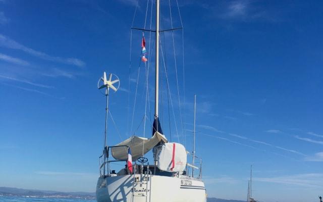 Segel- und Freiheitserlebnis an der Côte d'Azur