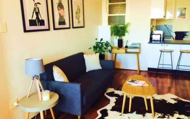 Stylish, chic studio apartment