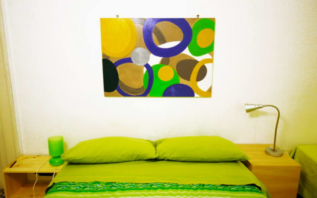 Stanza Verde/Green Room Rossonapoletano Bed and Breakfast