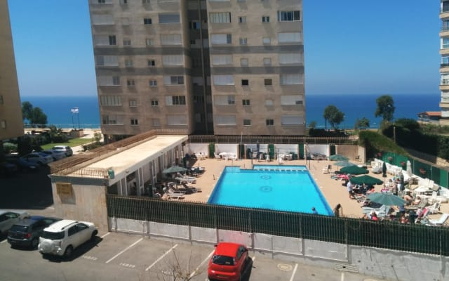 great seaview apartment within few minutes walk from the beachfront.