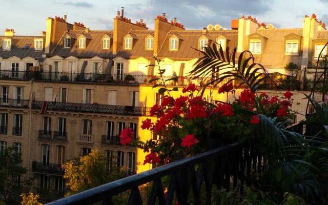 Un balcon à Paris – Châtelet-les halles