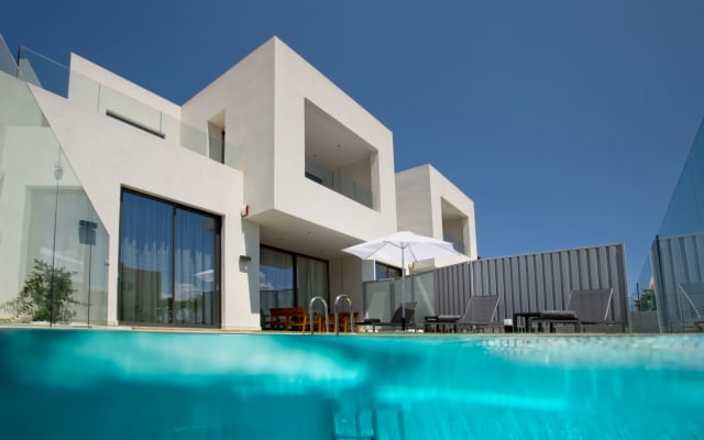 NEW VILLA S 150 meters from sandy beach and 5 km from Chania