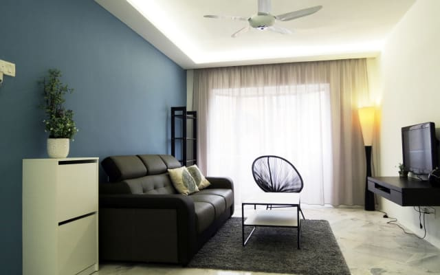 Cozy 3 rooms apartment in Melaka City Centre
