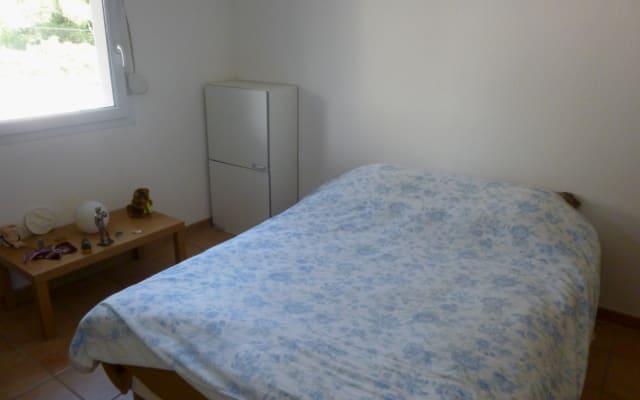 Chambre privée dans appartement avec  balcon