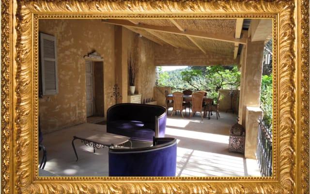 Gîte Flamenco/La maison d'Allouma campagne Golfe de StTropez