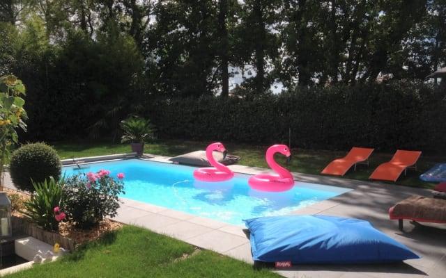 Chambre privée dans maison avec piscine à Pont-Saint-Martin