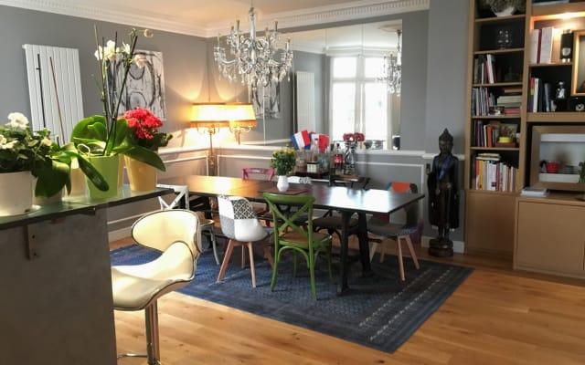 Independent Suite - Parisian Loft near Marais