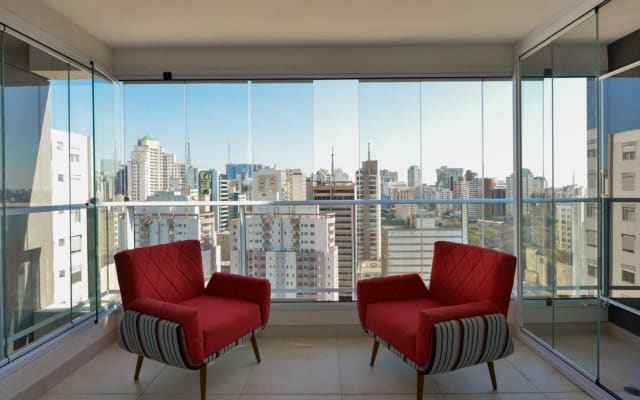 Studio with city view and infinity pool 2006B