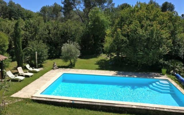 Beautiful Accomodation near Aix en Provence
